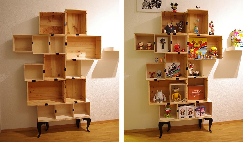 Best ideas about DIY Box Shelf . Save or Pin DIY Wine Box Shelf Now.