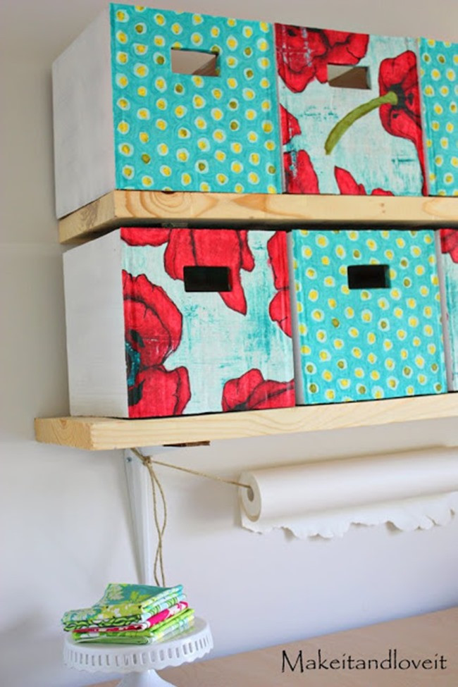 Best ideas about DIY Box Shelf . Save or Pin 7 DIY Storage Boxes Get Organized  Now.