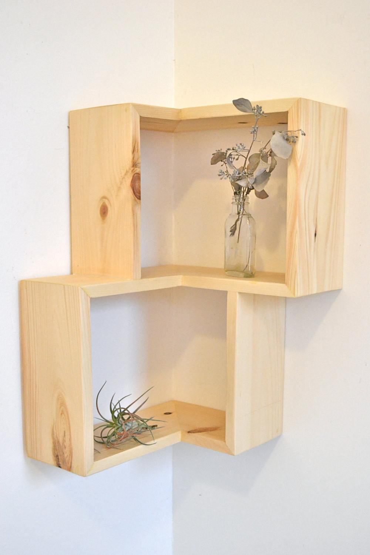 Best ideas about DIY Box Shelf . Save or Pin Double Corner Box Shelf Now.