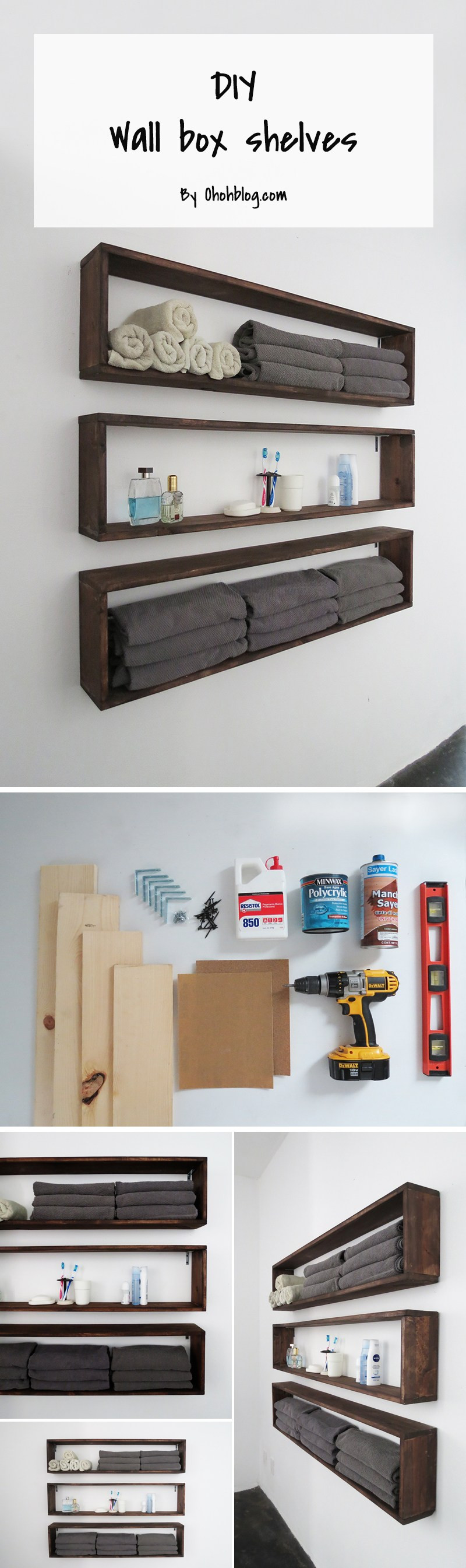 Best ideas about DIY Box Shelf . Save or Pin 15 Brilliant DIY Shelves You Can Build Yourself Homelovr Now.