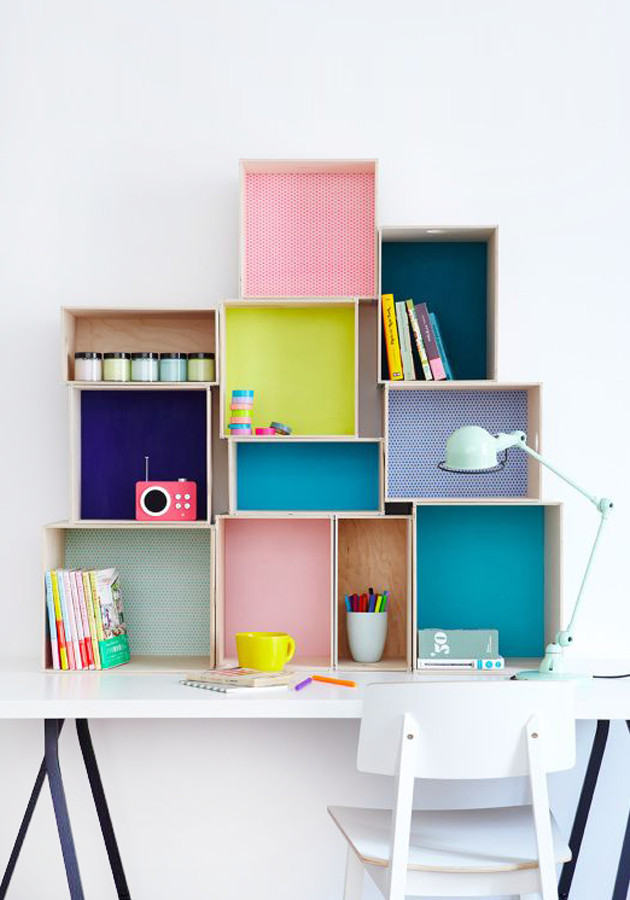 Best ideas about DIY Box Shelf . Save or Pin Chicdeco Blog Now.