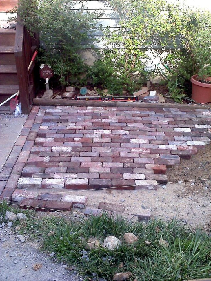 Best ideas about DIY Brick Patios . Save or Pin Diy Brick Patio Fixs Project Now.