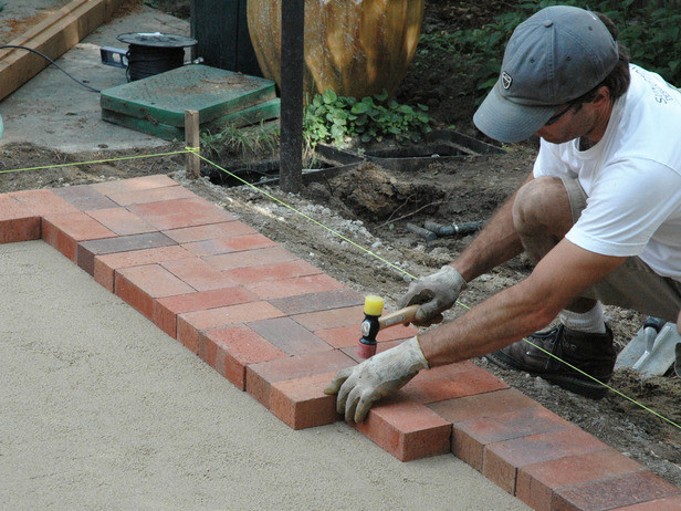 Best ideas about DIY Brick Patios . Save or Pin How to Lay a Brick Paver Patio how tos Now.