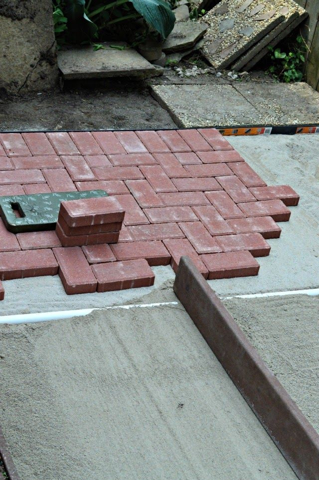 Best ideas about DIY Brick Patios . Save or Pin 550 best images about Patios Paths Walkways on Pinterest Now.