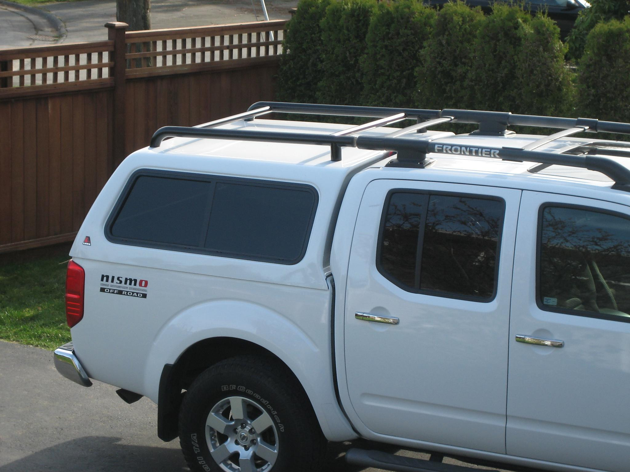 Best ideas about DIY Camper Shell Roof Rack . Save or Pin Roof rack for camper shell Nissan Frontier Forum Now.