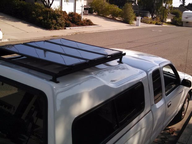 Best ideas about DIY Camper Shell Roof Rack . Save or Pin Installing a DIY roof rack for solar panels Now.