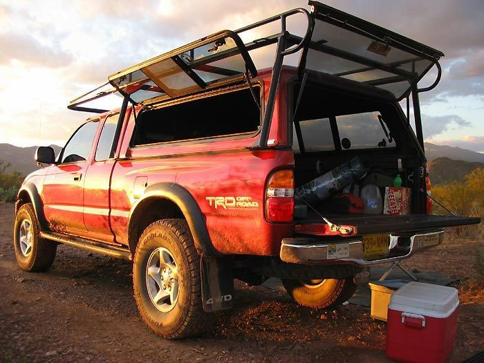 Best ideas about DIY Camper Shell Roof Rack . Save or Pin Image result for truck bed camper diy Now.