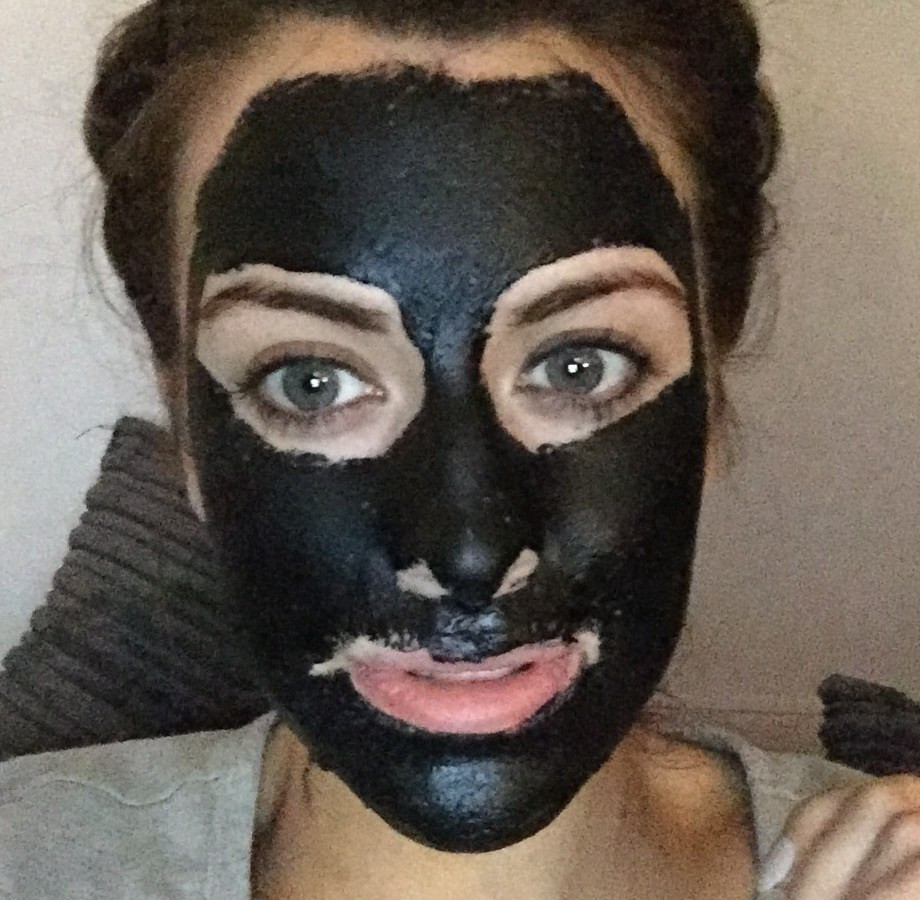 Best ideas about DIY Charcoal Mask With Glue . Save or Pin Charcoal and GLUE face mask The results Eleise Now.