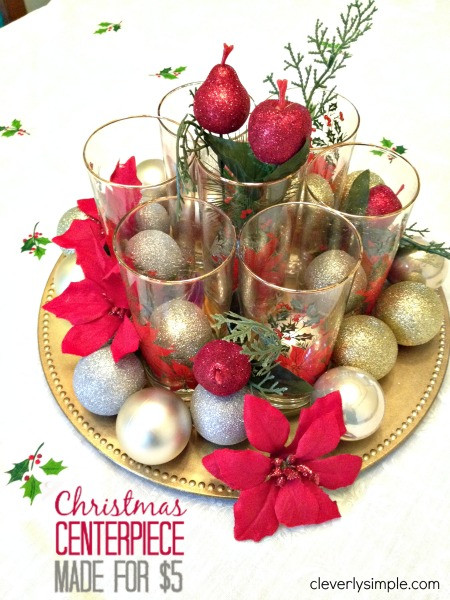 Best ideas about DIY Christmas Centerpieces . Save or Pin 19 Simple and Elegant DIY Christmas Centerpieces Style Now.