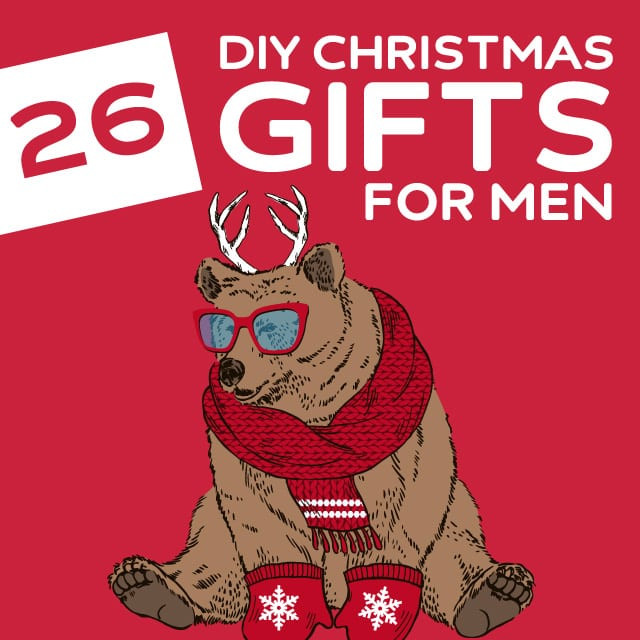 Best ideas about DIY Christmas Gift For Men . Save or Pin 26 Homemade Christmas Gifts for Men Now.