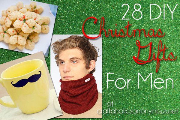 Best ideas about DIY Christmas Gift For Men . Save or Pin Craftaholics Anonymous Now.