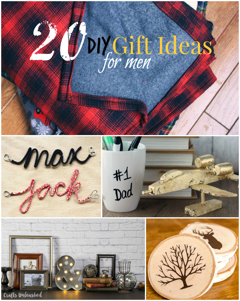 Best ideas about DIY Christmas Gift For Men . Save or Pin DIY Gifts for Men and Quick Buy Ideas CraftsUnleashed Now.