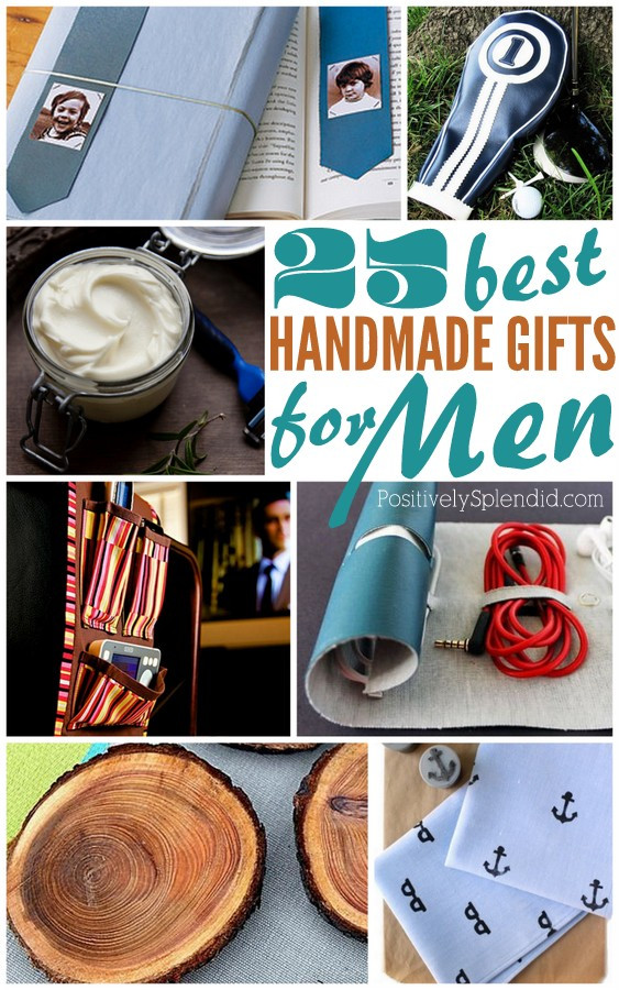 Best ideas about DIY Christmas Gift For Men . Save or Pin 25 Handmade Gifts for Men Now.