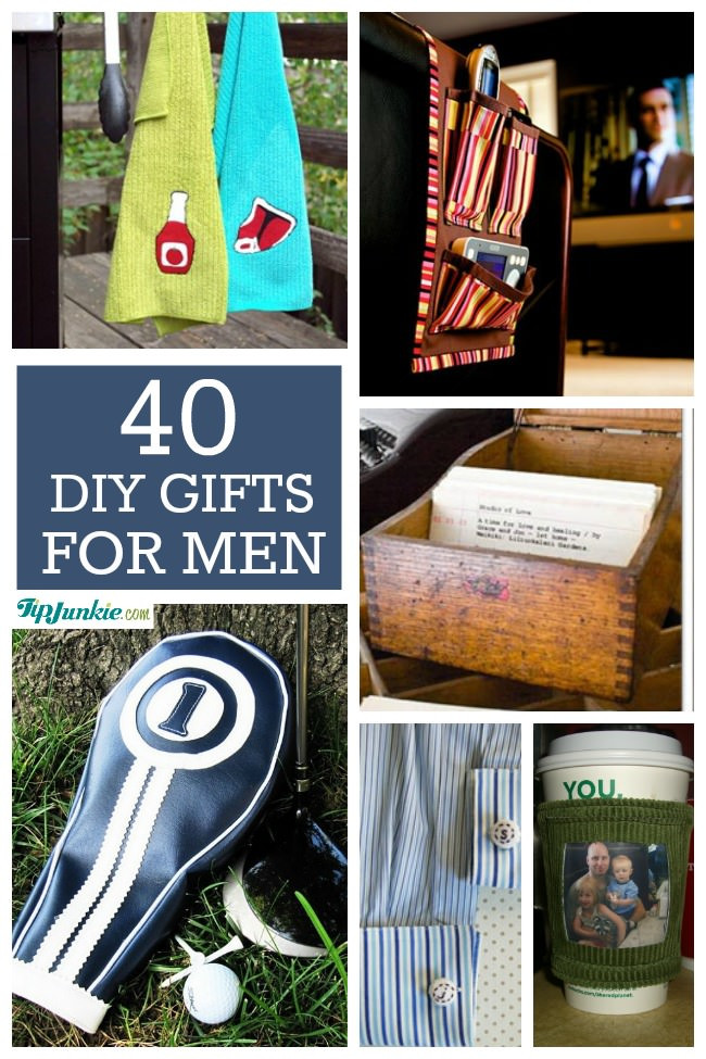 Best ideas about DIY Christmas Gift For Men . Save or Pin 40 Homemade Christmas Gift Ideas for Men – Tip Junkie Now.