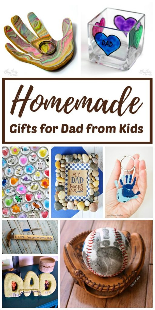 Best ideas about DIY Christmas Gifts For Dad . Save or Pin Easy Homemade Gifts for Dad from Kids Now.