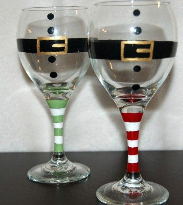 Best ideas about DIY Christmas Wine Glasses . Save or Pin Christmas Craft Ideas For A Beautifully Decorated Home Now.