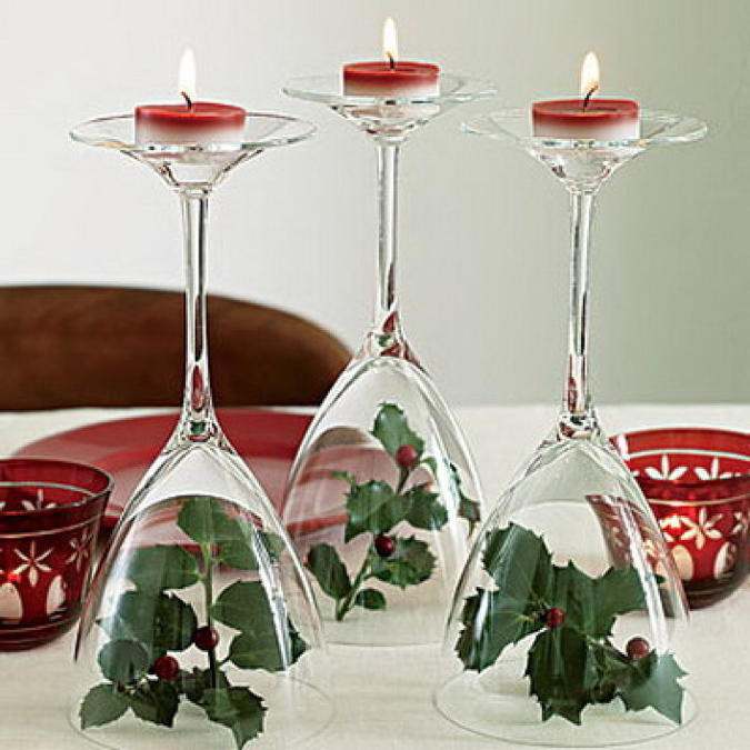 Best ideas about DIY Christmas Wine Glasses . Save or Pin 12 DIY Wine Glass Christmas Decorations The Bright Ideas Now.