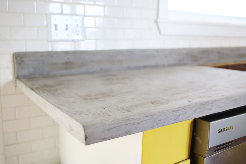 Best ideas about DIY Concrete Countertops . Save or Pin Concrete Countertop DIY A Beautiful Mess Now.