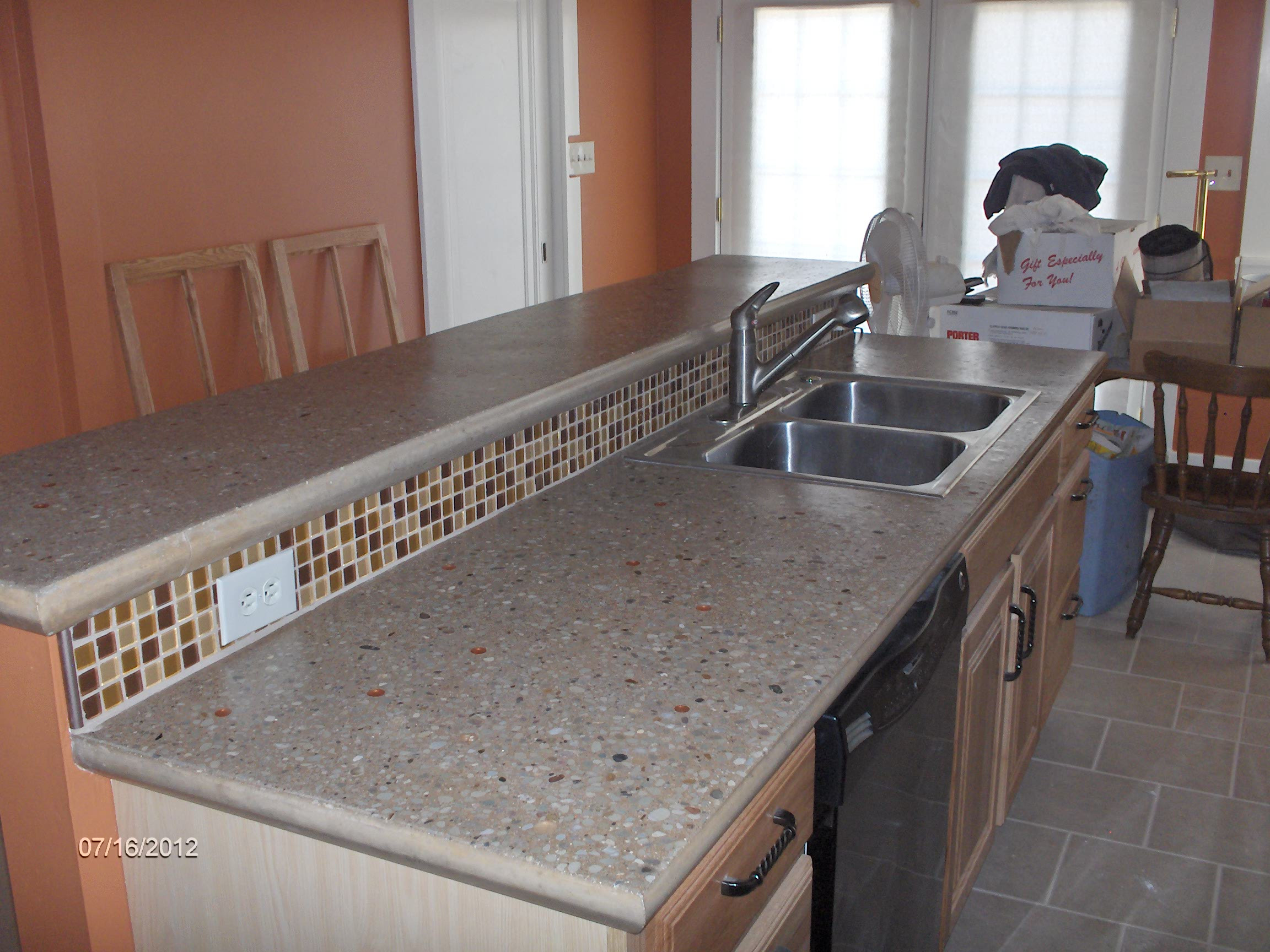 Best ideas about DIY Concrete Countertops . Save or Pin Building And Installing Diy Concrete Countertops Now.