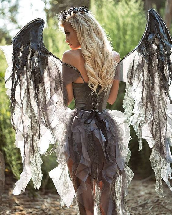 Best ideas about DIY Dark Angel Costume . Save or Pin 15 Angel Costumes and DIY Ideas 2017 Now.