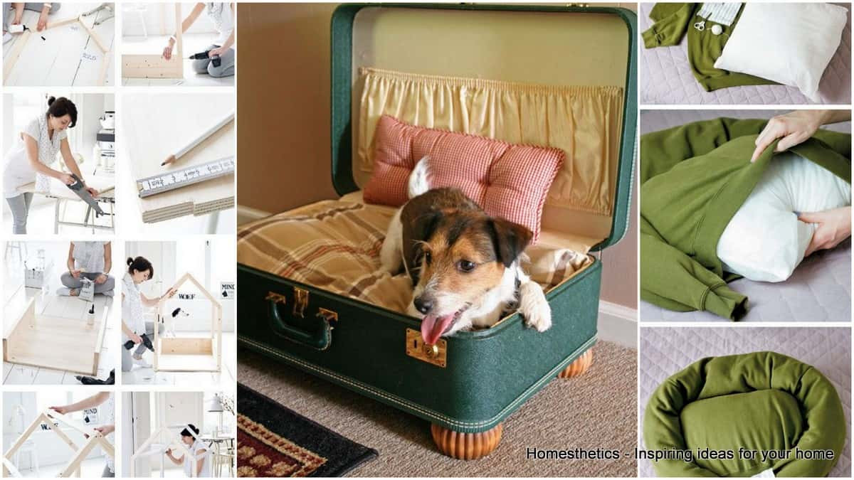 Best ideas about DIY Dog Bed Ideas . Save or Pin 29 Epic DIY Dog Bed Ideas For Your Furry Friend Now.