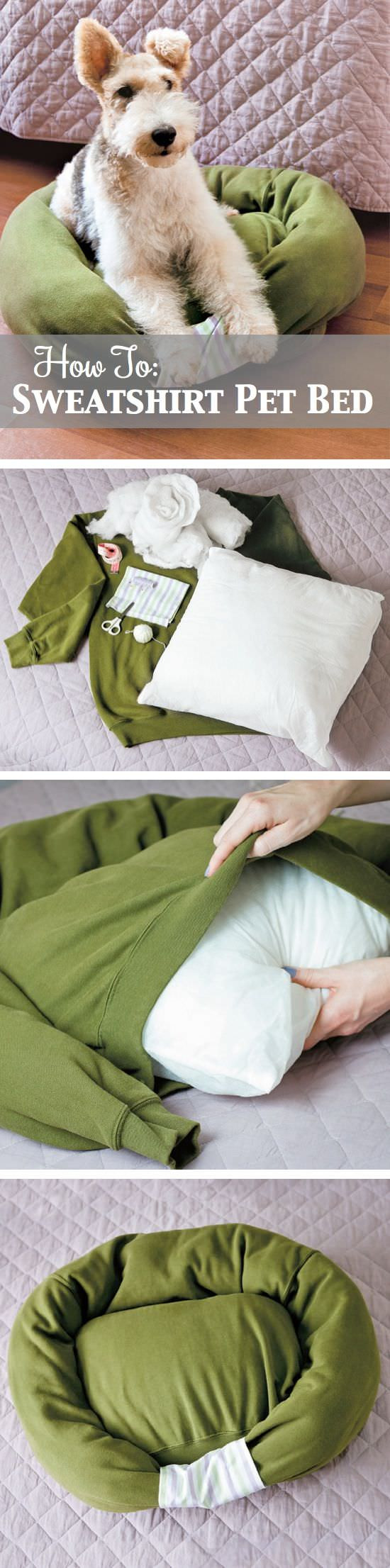 Best ideas about DIY Dog Bed Ideas . Save or Pin 16 Adorable DIY Pet Bed Ideas Style Motivation Now.