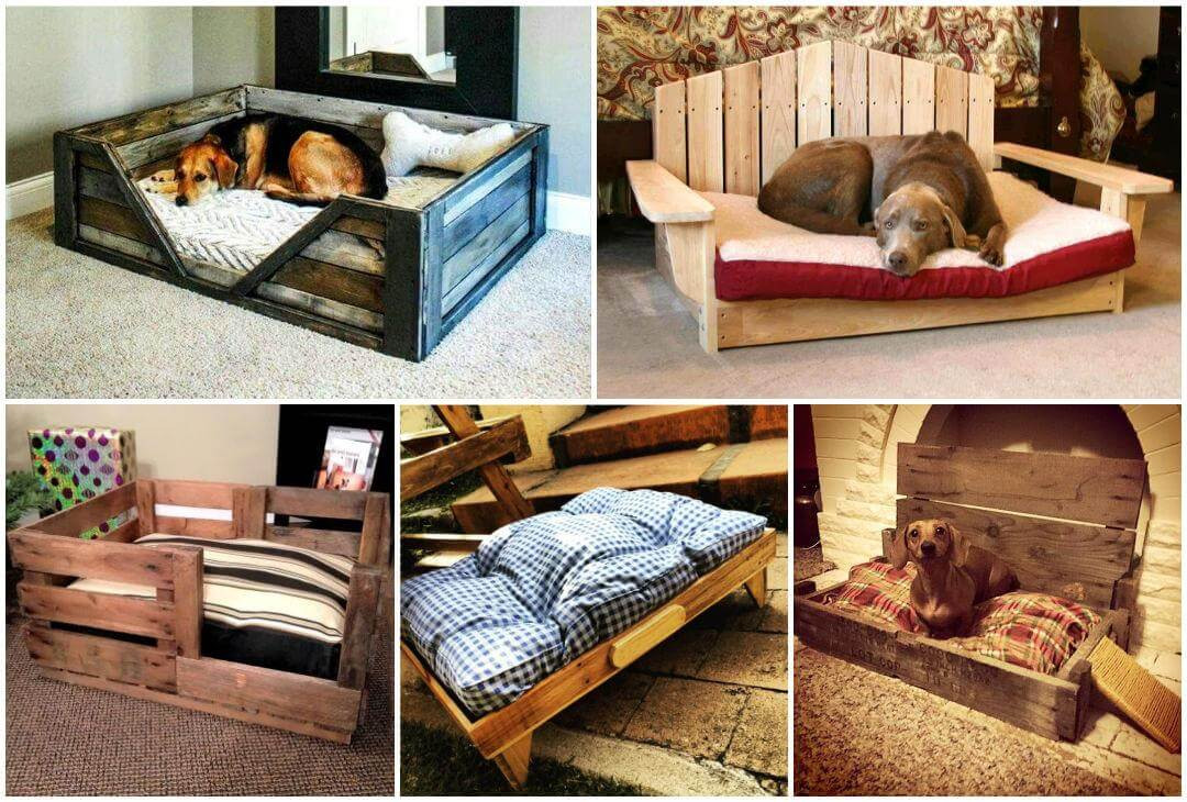 Best ideas about DIY Dog Bed Ideas . Save or Pin 40 DIY Pallet Dog Bed Ideas Don t know which I love more Now.