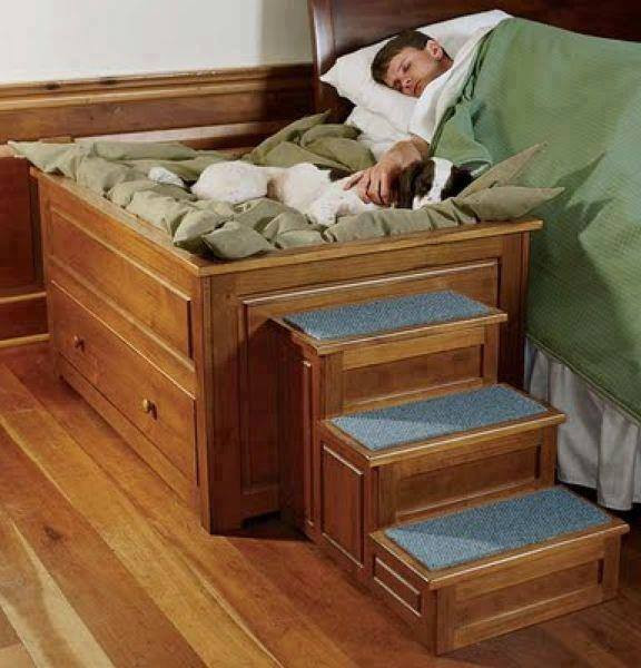 Best ideas about DIY Dog Bed Ideas . Save or Pin Chair building plans build dog bed Now.