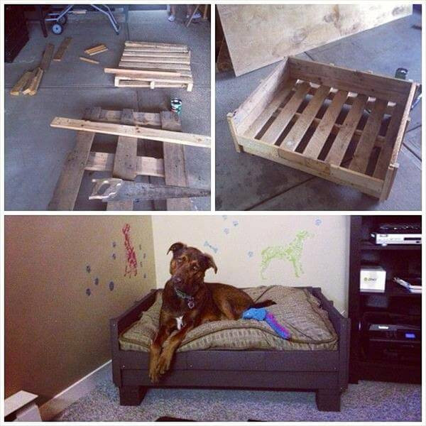 Best ideas about DIY Dog Bed Ideas . Save or Pin 11 DIY Pallet Dog Bed Ideas Now.