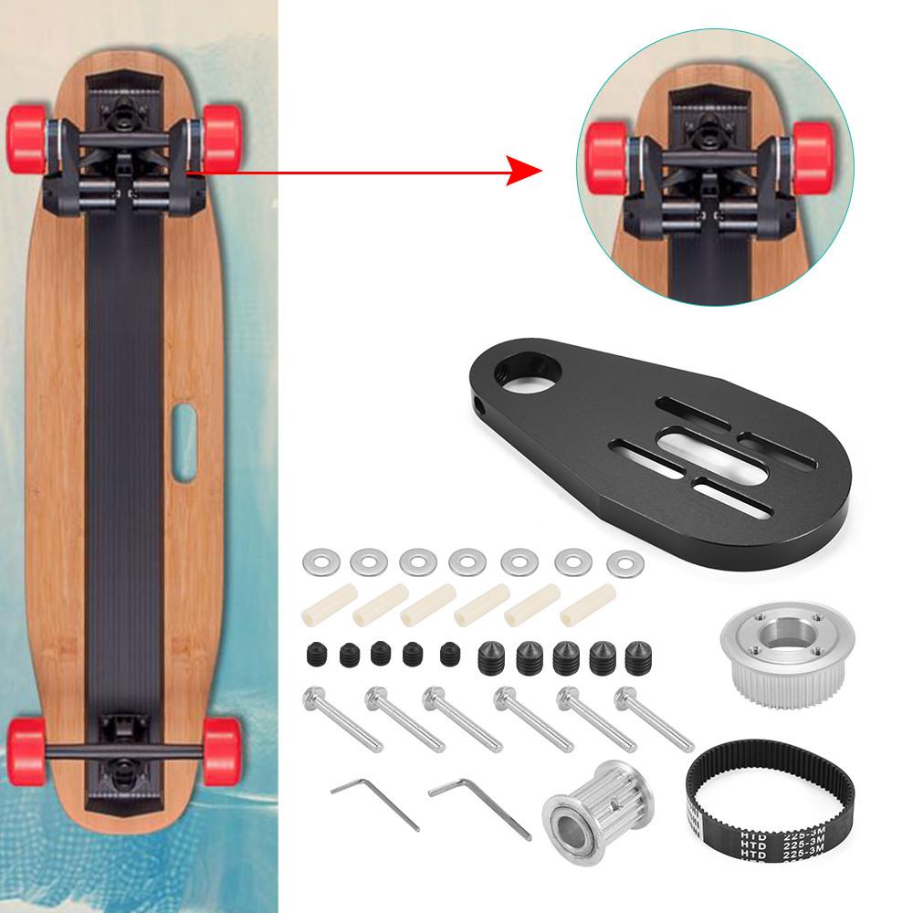 Best ideas about DIY Electric Skateboard Kit . Save or Pin DIY Electric Skateboard Longboard Kit Part Pulleys Motor Now.