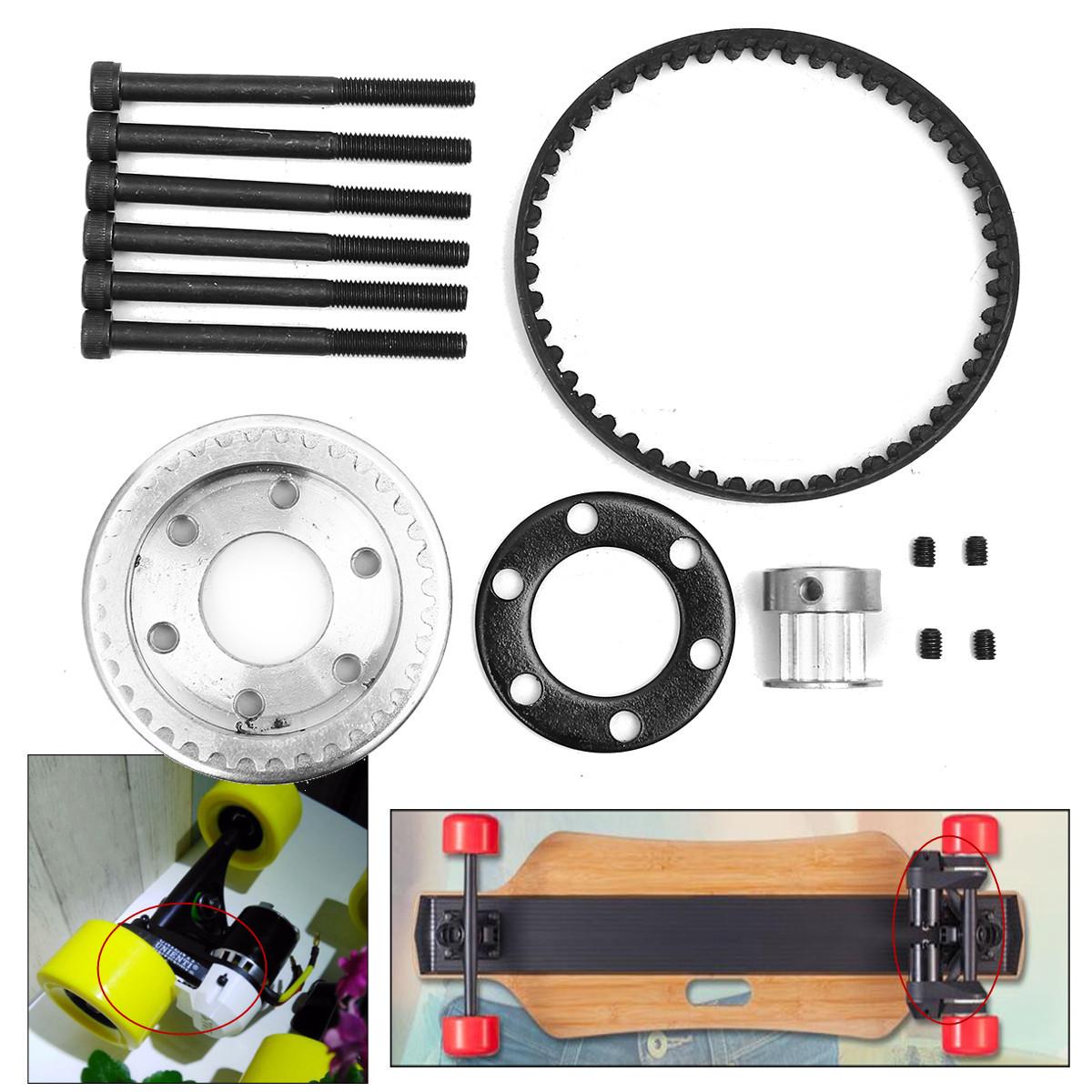 Best ideas about DIY Electric Skateboard Kit . Save or Pin DIY Electric Skateboard Parts Pulleys And Motor Mount Kit Now.