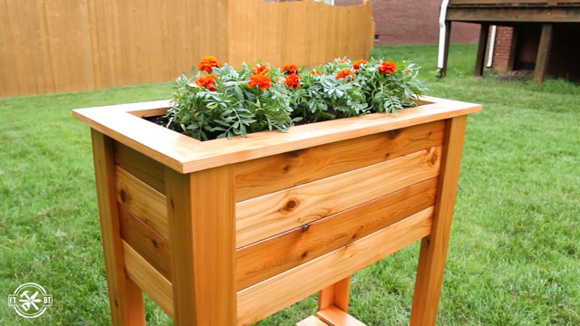 Best ideas about DIY Elevated Planter Box . Save or Pin DIY Raised Planter Box Now.