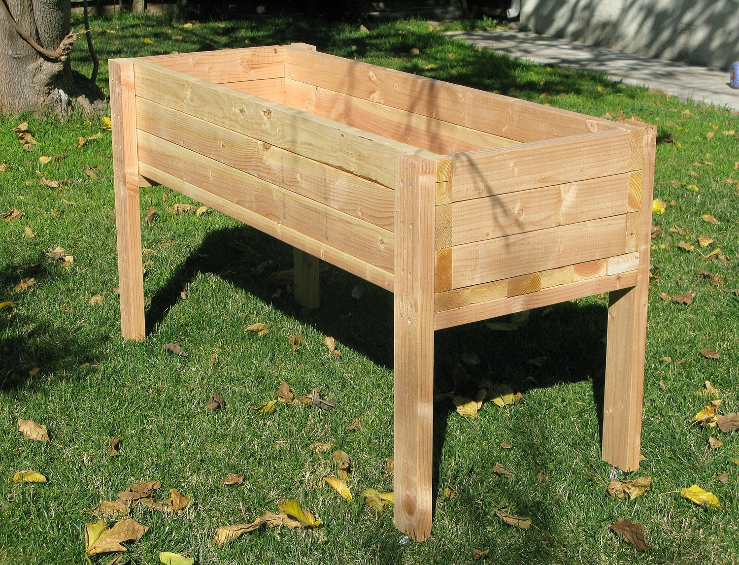 Best ideas about DIY Elevated Planter Box . Save or Pin Planters glamorous elevated planter box Cedar Planters Now.