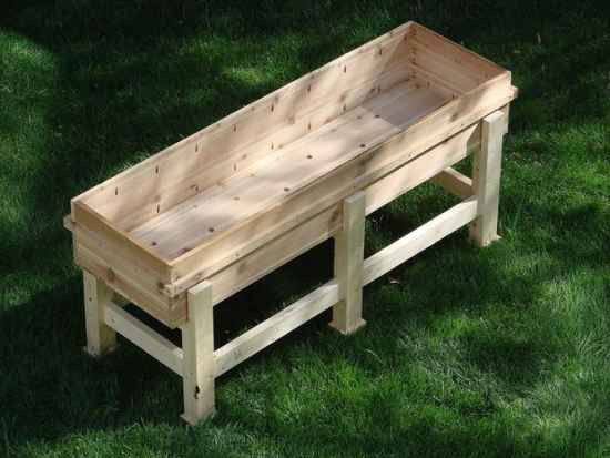 Best ideas about DIY Elevated Planter Box . Save or Pin 18 DIY Elevated Planter Boxes For Easy Gardening Now.