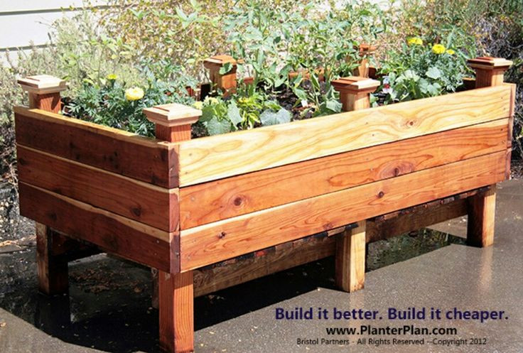 Best ideas about DIY Elevated Planter Box . Save or Pin High Quality Diy Raised Garden Box 6 Raised Planter Box Now.