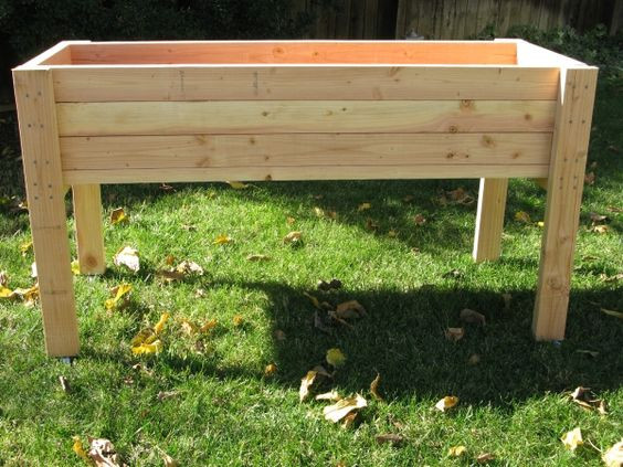 Best ideas about DIY Elevated Planter Box . Save or Pin Planters awesome raised planter box plans raised planter Now.