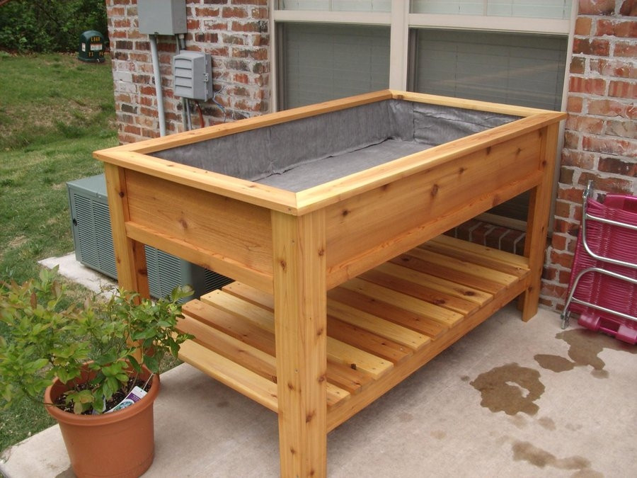 Best ideas about DIY Elevated Planter Box . Save or Pin Amazing Raised Planter Boxes Plans Ve able Garden Now.