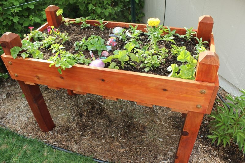 Best ideas about DIY Elevated Planter Box . Save or Pin DIY Raised Planter Box – A Step by Step Building Guide Now.