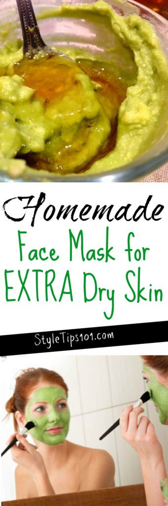Best ideas about DIY Face Mask For Dry Skin . Save or Pin DIY Face Mask For Dry Skin Now.