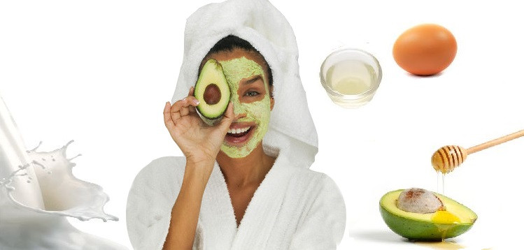 Best ideas about DIY Face Mask For Dry Skin . Save or Pin Homemade Dry Skin Face Mask With Egg White And Avocado Now.