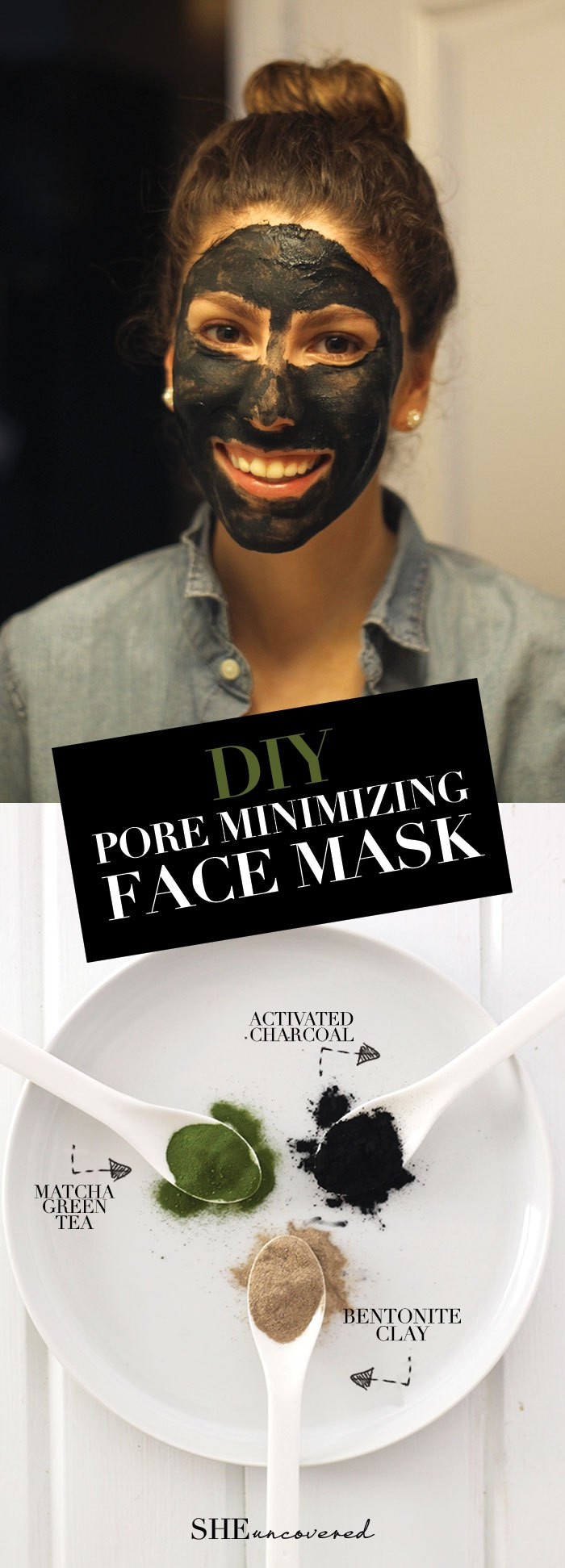 Best ideas about DIY Face Mask For Pores . Save or Pin DIY Pore Minimizing Face Mask • She Uncovered Now.