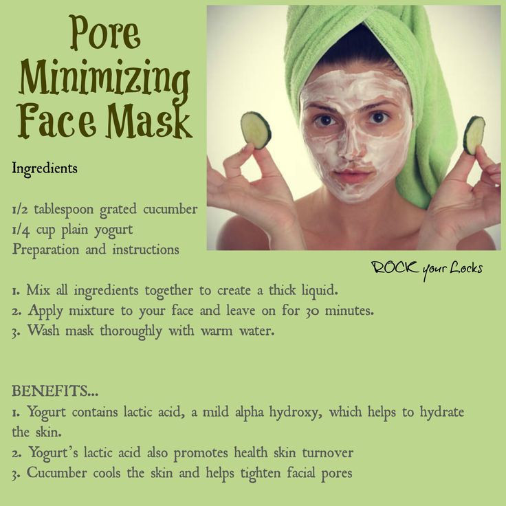 Best ideas about DIY Face Mask For Pores . Save or Pin 94 best images about Pore Minimizer DIY Recipes on Now.