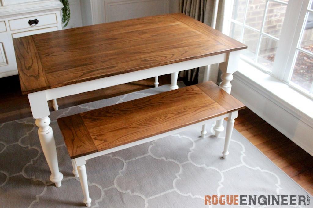 Best ideas about DIY Farmhouse Table Plans . Save or Pin DIY Solid Oak Farmhouse Table Now.