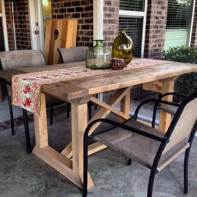 Best ideas about DIY Farmhouse Table Plans . Save or Pin DIY Rekourt Farmhouse Dining Table Plans Now.