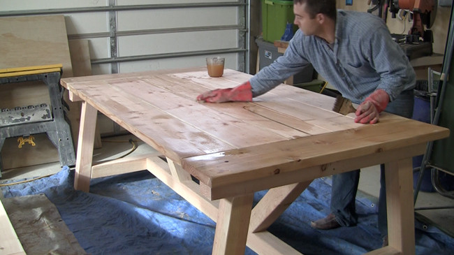 Best ideas about DIY Farmhouse Table Plans . Save or Pin How to Build a Farmhouse Table Now.