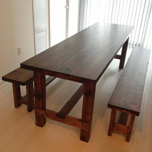 Best ideas about DIY Farmhouse Table Plans . Save or Pin Farmhouse Table Reveal Plans Storefront Life Now.