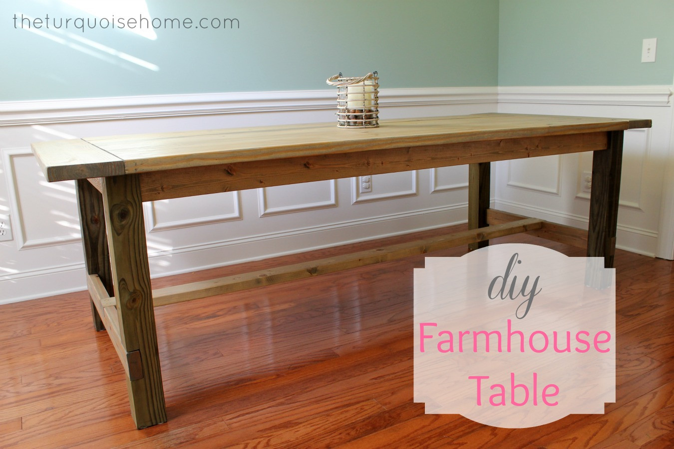 Best ideas about DIY Farmhouse Table Plans . Save or Pin Farmhouse Table Fundamental Woodworking Projects For Now.