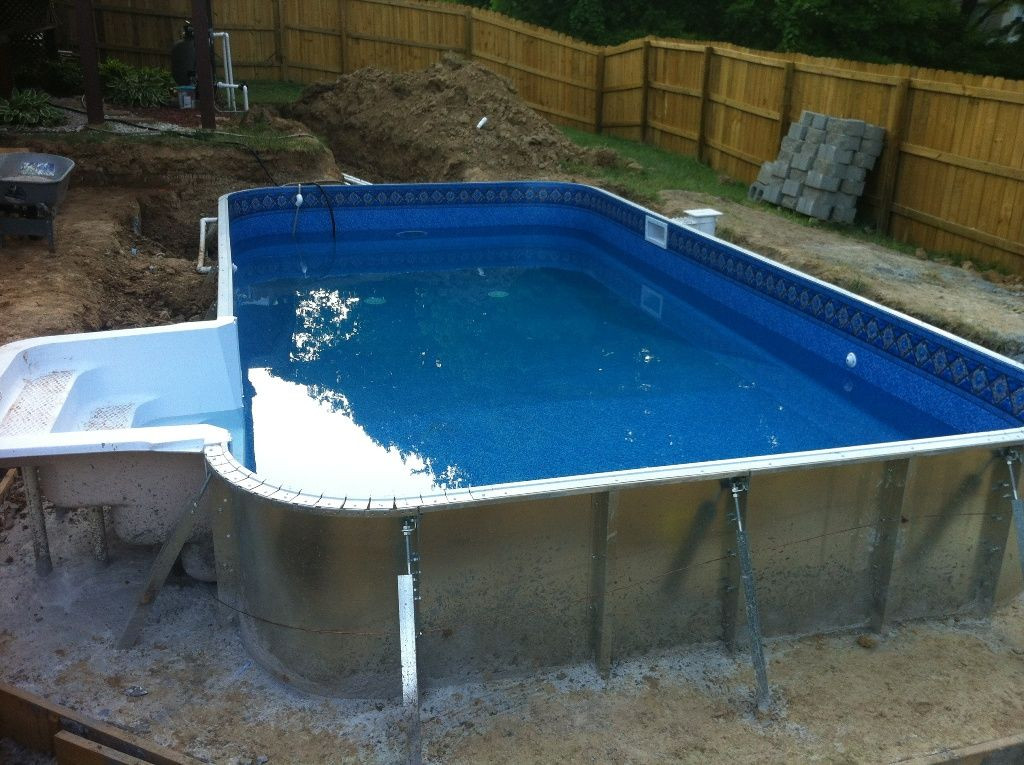 Best ideas about DIY Fiberglass Pool Kits . Save or Pin Exterior Cool Fiberglass Pool Kits Fiberglass Pool Shell Now.