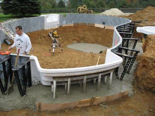 Best ideas about DIY Fiberglass Pool Kits . Save or Pin DIY Inground Swimming Pool Kits Now.