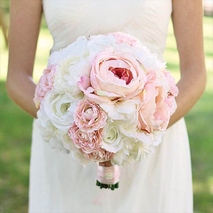 Best ideas about DIY Flower Wedding . Save or Pin 21 Homemade Wedding Bouquet Ideas Now.
